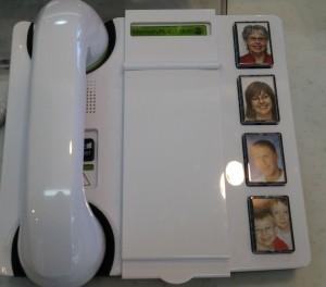 認知症の方の電話機